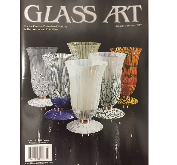 Glass Art Magazine - January / February 2017