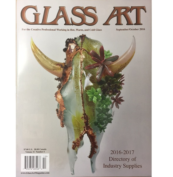 Glass Art Magazine - September/October 2016