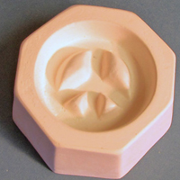 Holey Peace Sign Cabochon Casting Mould