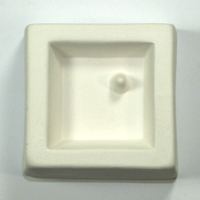 Holey Small Square Cabochon Casting Mould