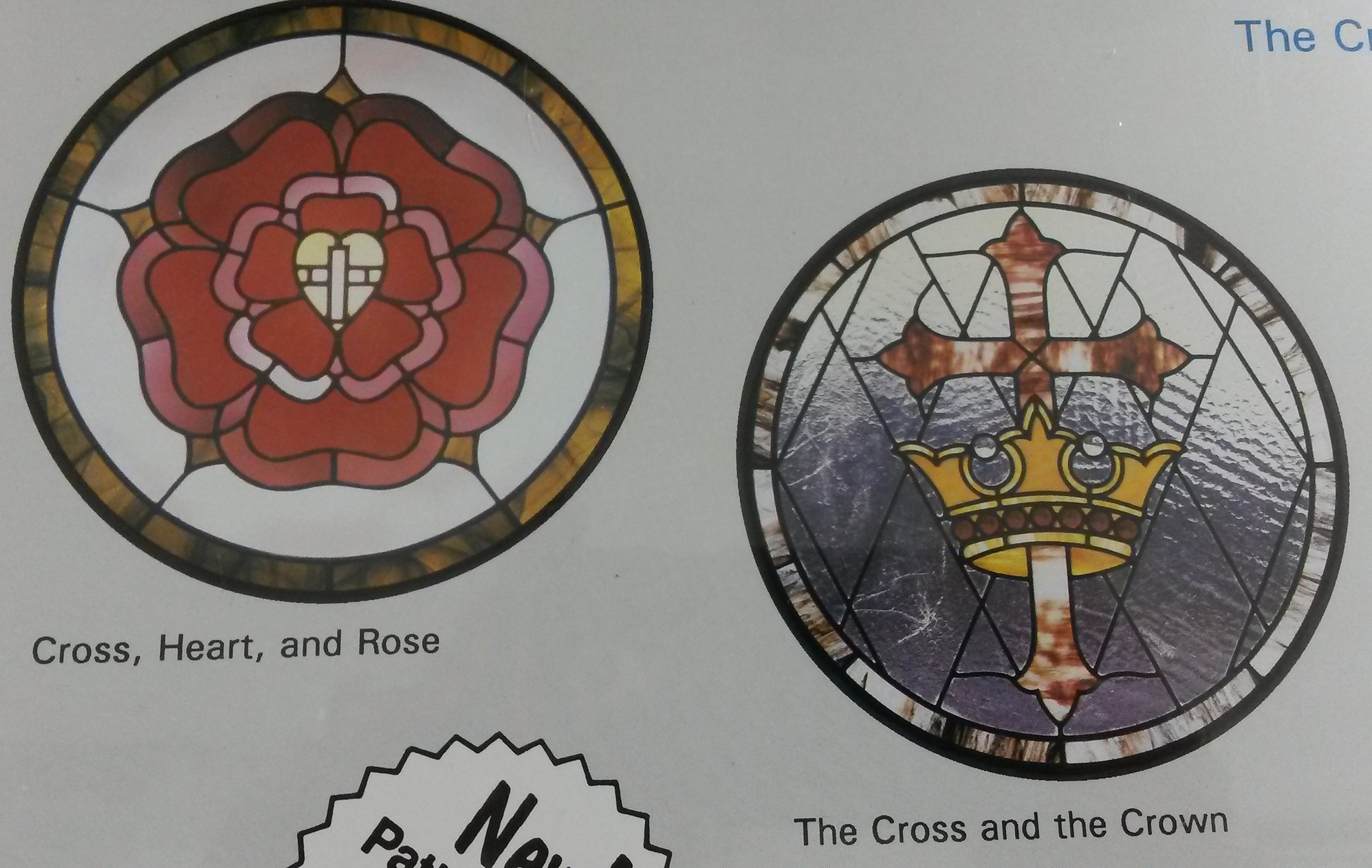 Cross and the Crown Pattern