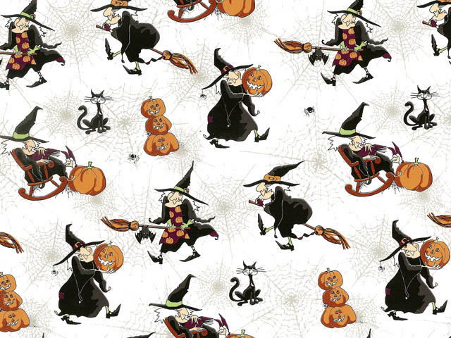 Hubble Bubble Witches Chintz 200 mm x 200 mm