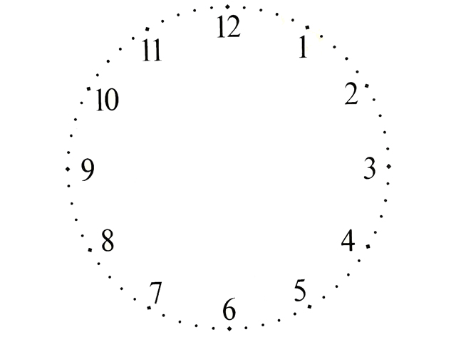 Clock Face (Numbers) 142 mm