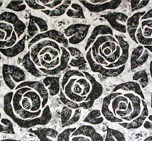 Gothic Rose Chintz 100 mm x 100 mm