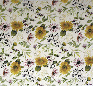 Sunflower Chintz 100 mm x 100 mm