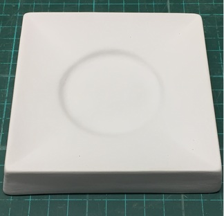 Square Plate - 115mm - Large Centre