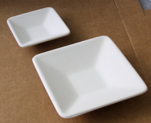 Square Bowl - 140 mm - Straight Sides