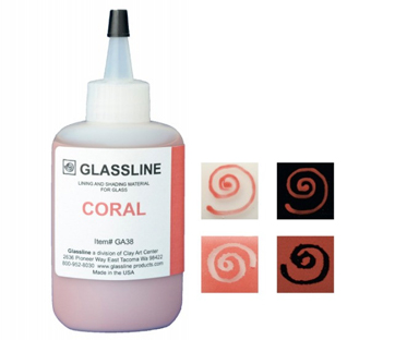 Glassline Paint Pen - Coral