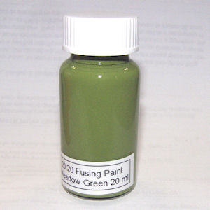 20:20 Meadow Green Glass Fusing Paint - 20 ml