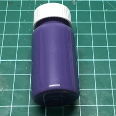 20:20 Purple Glass Fusing Paint - 20 ml
