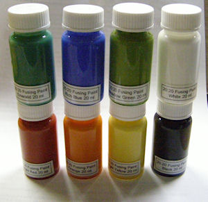 20:20 Glass Fusing Paint - 20 ml - Set of 8