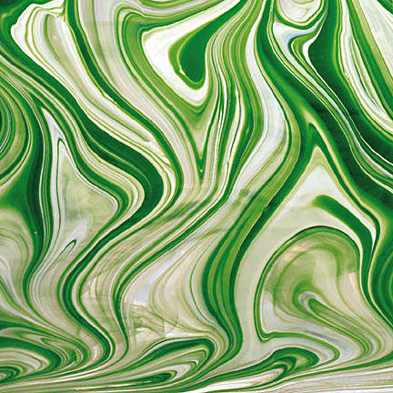 Spectrum Baroque Emerald White Clear (Handy Sheet 300 mm x300mm)