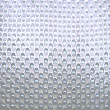 Clear Radium Ripple Iridised (Handy Sheet 300 mm x 300 mm)