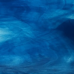 Sea Blue base / Crystal streaks PRISMA (Handy Sheet 260mm x 260m