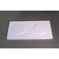 Textured Coaster Drape