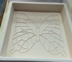 Butterfly Tile Dam Mould