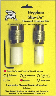 Gryphon Slip-On Grinding Kit - 1 inch and 3/4 inch