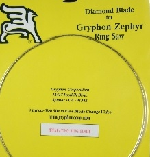 Zephyr Ring Saw - Seperating Blade