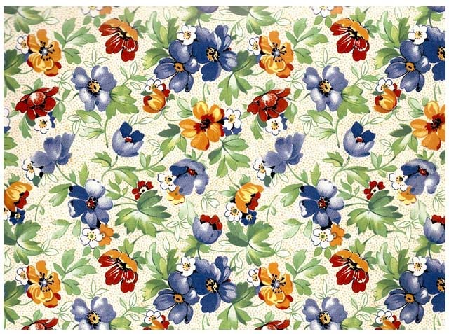 Victoriana Chintz 200 mm x 200 mm