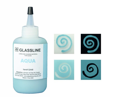Glassline Paint Pen - Aqua