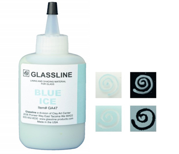 Glassline Paint Pen - Blue Ice