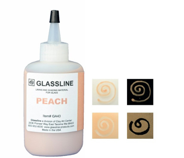 Glassline Paint Pen - Peach