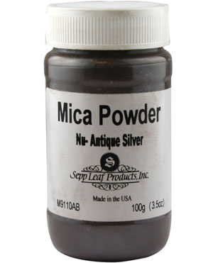 Mica Powder - Nu-Antique Silver - 20 g