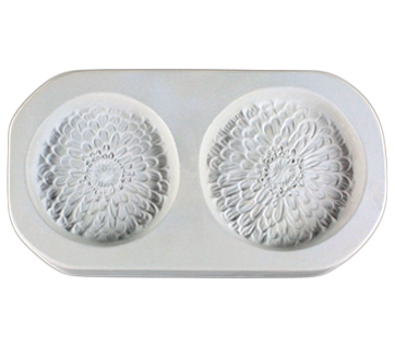 CPI Two Small Zinnias Casting Mould