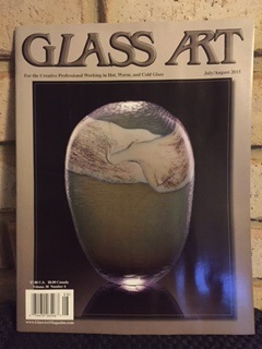 Glass Art Magazine July/August 2015