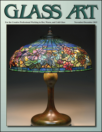 Glass Art Magazine November/December 2015