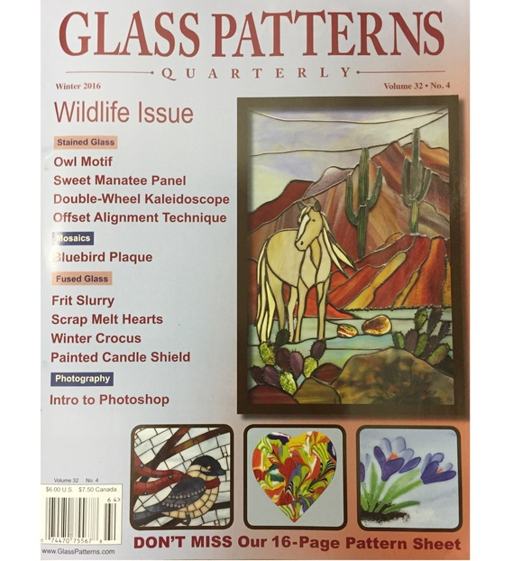 Glass Patterns Quarterly - Winter 2016