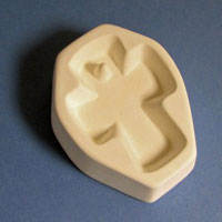 Holey Cross Cabochon Casting Mould