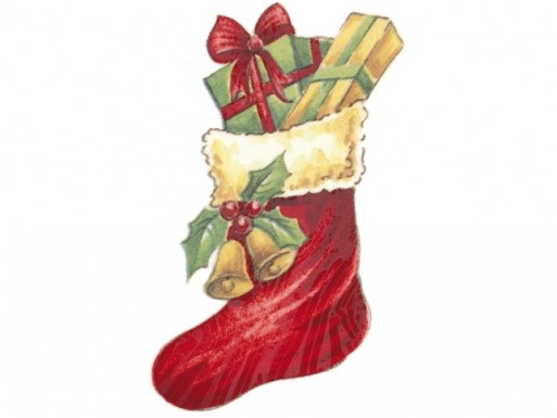 Christmas Stocking - 70 mm Set of 2