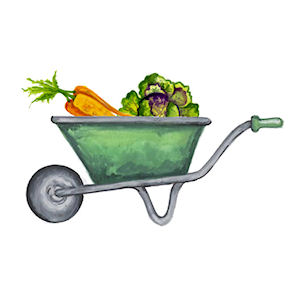 Wheelbarrow - Small - 45 mm - Set of 4