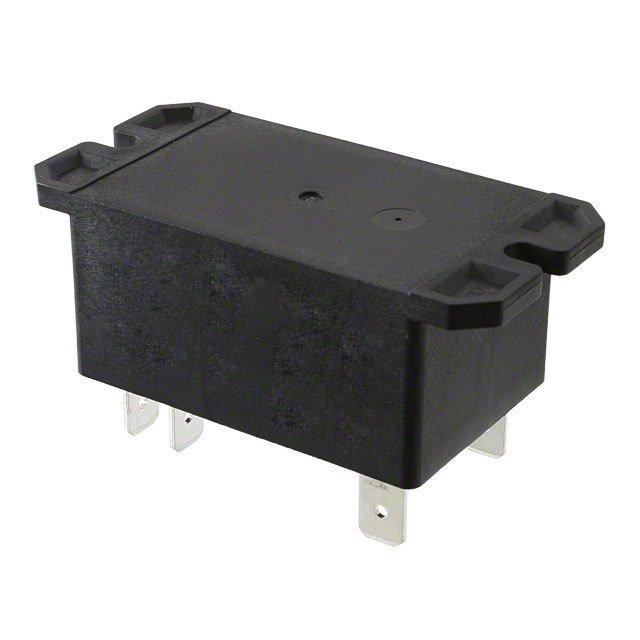 6 Pole relay - panel mount
