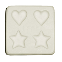 Jewellery Hearts and Stars Mould