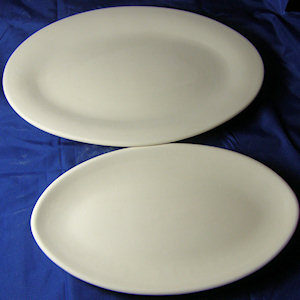 Oval Plate - 290 mm x 190 mm
