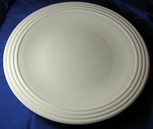 Round Bowl - Ribbed Rim - 380 mm (pickup only)