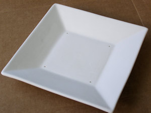 Square Bowl - 270 mm - Straight Sides
