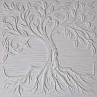 Textured Fusing Tile - Tree of Life Small