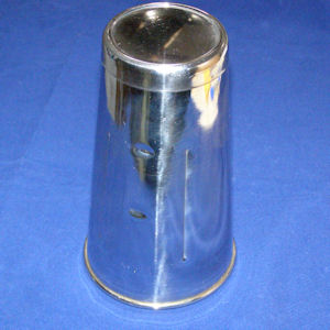 Drapery tumbler Stainless Steel - 180 mm tall