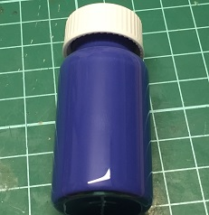 20:20 Indigo Glass Fusing Paint - 20 ml