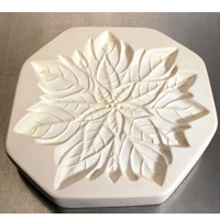 Poisettia Casting Mould - 22.2 cm x 22.8 cm
