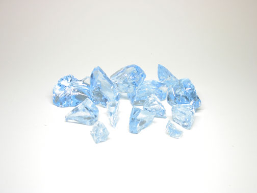 Electric Blue 406 Casting Rocks - 1 kg