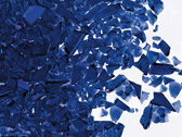 Cobalt Blue Trans Coarse Frit per gram sold 50gr increments