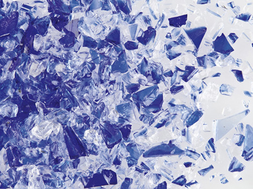 Cobalt Blue/Clear DT Medium per gr sold in 50gr increments