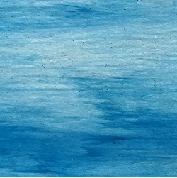 Crystal base / Sea Blue streaks PRISMA (Handy Sheet 260mm x 260m