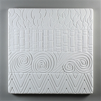 Textured Fusing Tile - Hot Patterns