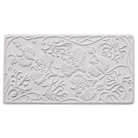 Textured Fusing Tile - Art Nouveau Design