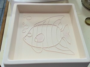Fish Tile Dam Casting Mould